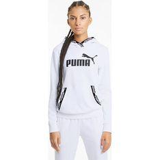 Bluza damska biała Puma krótka sportowa