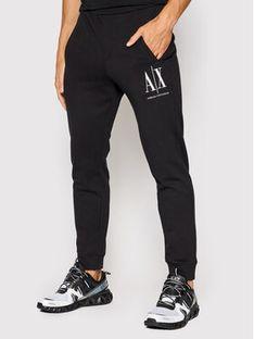 Armani Exchange Spodnie dresowe 8NZPPA ZJ1ZZ 1200 Czarny Regular Fit