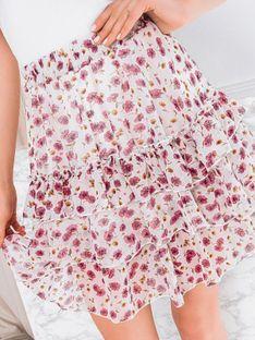Spódnica damska 005GLR - biała