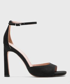 Czarne sandały damskie