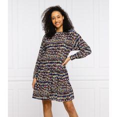 BOSS Sukienka C_Deffei | z dodatkiem jedwabiu