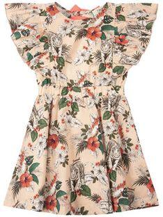 TwinSet Sukienka codzienna 201GJ2330 D Różowy Fitted Fit