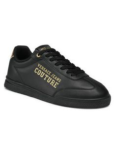 Versace Jeans Couture Sneakersy E0YWASO3 Czarny