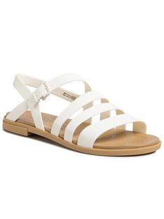 Crocs Sandały Tulum Sandal W 206107 Biały