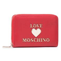Duży Portfel Damski LOVE MOSCHINO - JC5621PP1CLF0500 Rosso