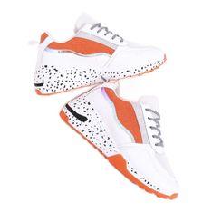 Buty sportowe damskie białe C-3151 Orange