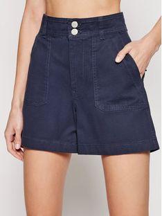 Tommy Jeans Szorty jeansowe Harper High DW0DW09753 Granatowy Regular Fit