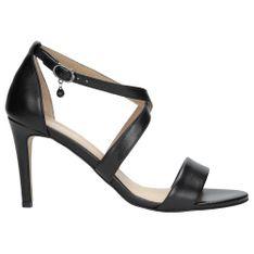 Wojas Symbol Kobiecości Oraz Zmysłowości: Czarne Sandały Na Szpilce