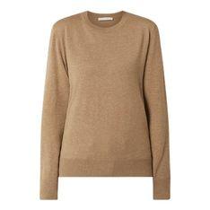 Sweter damski BOSS HUGO z okrągłym dekoltem