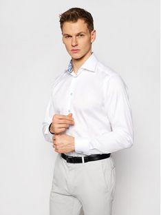 Eton Koszula 100003019 Biały Slim Fit