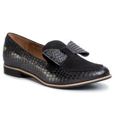Lordsy MACIEJKA - 04099-61/00-1 Czarny Krokodyl
