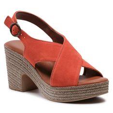Sandały TAMARIS - 1-28036-36 Dark Orange 611