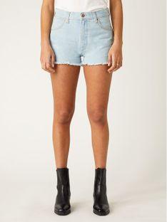 Wrangler Szorty jeansowe Festival Short W26FWPXA3 Niebieski Regular Fit