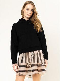 Pepe Jeans Sweter Yena PL701572 Czarny Regular Fit