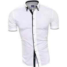Koszula męska Risardi bialy