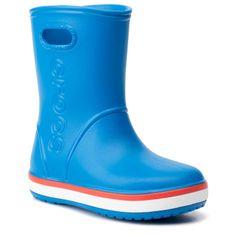 Kalosze CROCS - Crocband Rain Boot K 205827  Bright Cobalt/Flame
