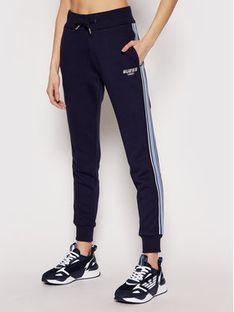 Guess Spodnie dresowe O1RA32 FL03Q Granatowy Regular Fit