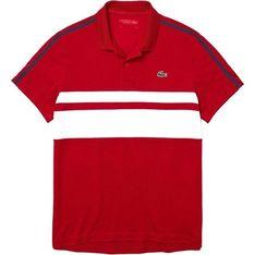 T-shirt męski Lacoste z krótkim rękawem