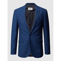 Niebieska marynarka męska Montego z wiskozy