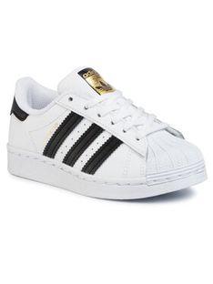 adidas Buty Superstar C FU7714 Biały