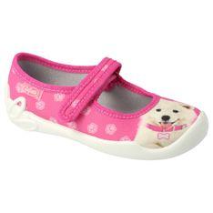 Befado obuwie dziecięce  114X456 różowe