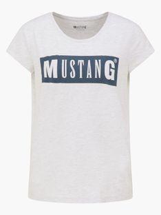 "Mustang ""Alina C Logo Tee"" Gray"