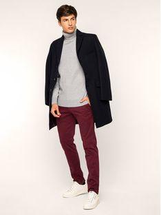 Roy Robson Spodnie materiałowe 941-51 Bordowy Slim Fit