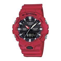 Zegarek G-SHOCK - GA-800-4AER Red/Black