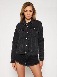 Calvin Klein Jeans Kurtka jeansowa J20J215927 Czarny Regular Fit