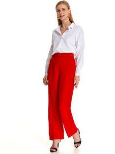 Eleganckie spodnie damskie w modnym kolorze