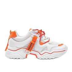 Białe sneakersy sportowe Kenia