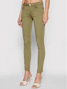 Guess Jeansy Curve X W1GAJ2 W77RE Zielony Skinny Fit
