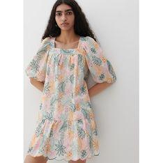 Sukienka Reserved na wiosnę na spacer trapezowa mini