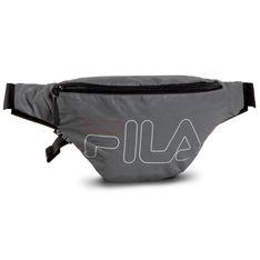 Saszetka nerka FILA - Waist Bag Slim 685098 Silver Reflective J99