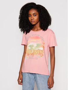Billabong T-Shirt Day Dream Away W3SS12 BIP1 Różowy Regular Fit