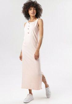 Jasnoróżowa Sukienka Sahaqiel