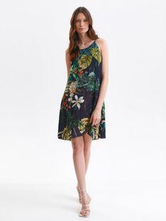 Sukienka na lato w kwiatowy nadruk