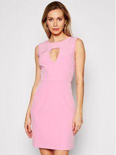 Guess Sukienka koktajlowa W1GK0S WB4H2 Różowy Slim Fit