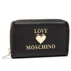 Duży Portfel Damski LOVE MOSCHINO - JC5611PP0BLE0000  Nero