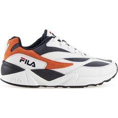 Buty sportowe męskie Fila wiązane z tworzywa sztucznego