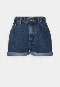 ONLY Petite - Szorty jeansowe - niebieski denim