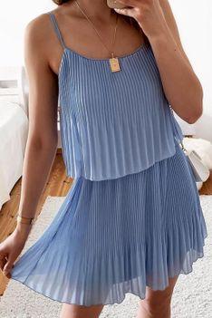 Sukienka LARSUNA BLUE