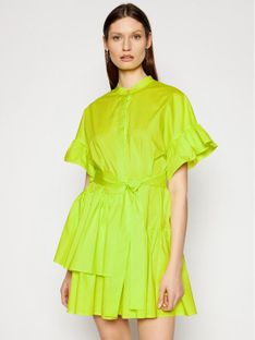 TwinSet Sukienka codzienna 211TT2459 Zielony Regular Fit