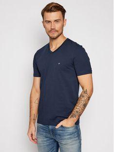 Calvin Klein T-Shirt Logo Embroidery K10K103672 Granatowy Regular Fit