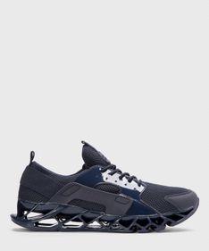 Granatowe sneakersy męskie