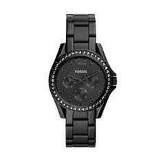 Zegarek FOSSIL - Riley ES4519 Black