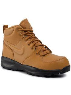 Nike Buty Manoa Ltr (Gs) BQ5372 700 Brązowy