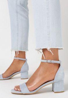 Niebieskie Sandały Pasethe