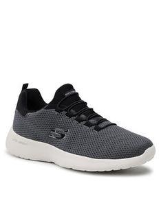 Skechers Sneakersy Dynamight 58360/BLK Czarny