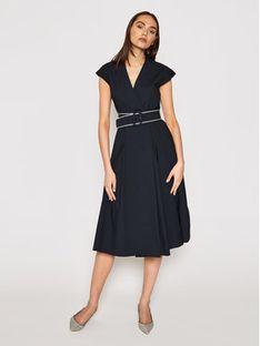 Marella Sukienka codzienna Numero 32212212 Granatowy Regular Fit